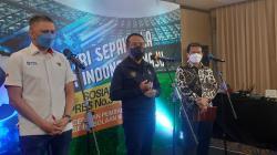 Kemenpora menggelar acara Sosialisasi Inpres No. 3 Tahun 2019 tentang Percepatan Pembangunan Persepak Bolaan Nasional di Yogyakarta di Royal Ambarrukmo Hotel, Yogyakarta.