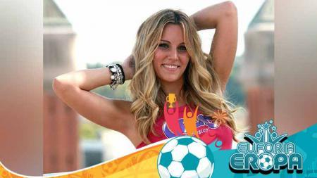 Berikut ini WAGS cantik timnas Spanyol yang akan menemani David de Gea dkk di Euro 2020. Salah satunya bahkan pernah diberi gelar wanita terseksi Spanyol. - INDOSPORT