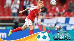 Indosport - Simon Kjaer, kapten sekaligus malaikat penyelamat nyawa Christian Eriksen.