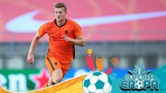 Indosport - Matthijs De Ligt, pemain Timnas Belanda.