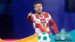 Indosport - Mengenal Andrej Kramaric, salah satu bintang senior tim Kroasia yang siap bersinar di ajang Euro 2020.