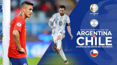 Indosport - Link Live Streaming Pertandingan Copa America 2021: Argentina vs Chile.