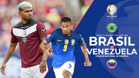 Berikut prediksi pertandingan Copa America grup A yang mempertemukan Brasil vs Venezuela di Estadio Nacional de Brasilia, Senin (14/06/21) pukul 04.00 WIB. - INDOSPORT