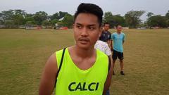 Indosport - Bek anyar Sriwijaya FC, Ikhwan Ciptady.