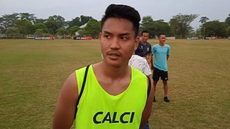 Bek anyar Sriwijaya FC, Ikhwan Ciptady. - INDOSPORT