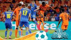 Indosport - Berikut adalah hasil pertandingan Euro 2020 antara Belanda vs Ukraina pada Senin (14/06/21) dini hari WIB di Amsterdam Arena, Belanda.