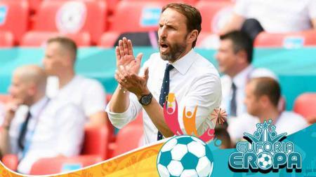 Keberhasilan Gareth Southgate membawa Inggris ke partai sepenting final Euro 2020 rupanya sudah bisa diprediksi sejak dulu. - INDOSPORT