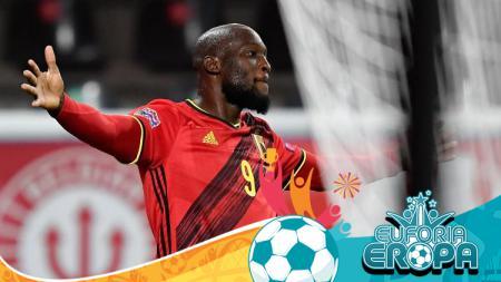 Striker Belgia, Romelu Lukaku - INDOSPORT