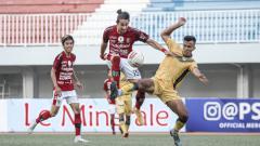Indosport - Bali United harus puas diimbangi PSIM Jogja 1-1 pada uji coba kedua di Stadion Mandala Krida, Jogja, Senin (14/06/21).