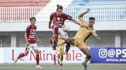 Bali United harus puas diimbangi PSIM Jogja 1-1 pada uji coba kedua di Stadion Mandala Krida, Jogja, Senin (14/06/21).