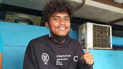Gelandang muda Persib, Saiful, saat ditemui INDOSPORT.com beberapa waktu lalu.