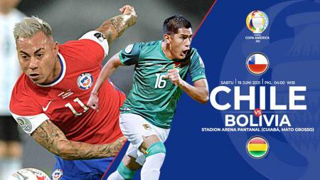 Ini prediksi pertandingan Copa America antara Chile vs Bolivia. - INDOSPORT