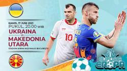Ukraina akan menghadapi Makedonia Utara di matchday kedua Grup C Euro 2020, Kamis (17/06/21) pukul 20.00. Berikut prediksi untuk pertandingan tersebut.