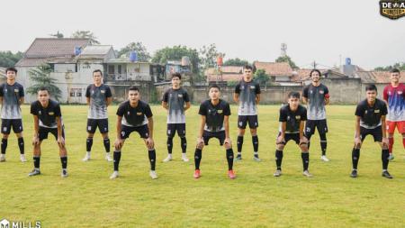 Skuat Dewa United FC. - INDOSPORT