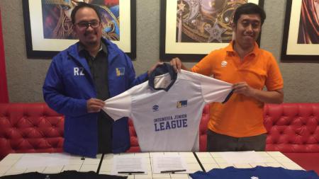 Kompetisi Indonesia Junior League (IJL) musim 2021/2022 depan dijamin akan lebih berwarna setelah apparel lokal, Zenith resmi menjadi sponsor. - INDOSPORT