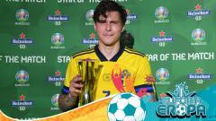 Indosport - Euro 2020: Victor Lindelof, Tembok Kokoh Skandinavia di Skuad Blagult