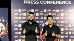 Indosport - Diego Michels, pemain baru Arema FC jelang Liga 1 2021.