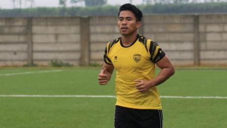 Nurhidayat Haji Haris berlatih di AHHA PS Pati FC. - INDOSPORT