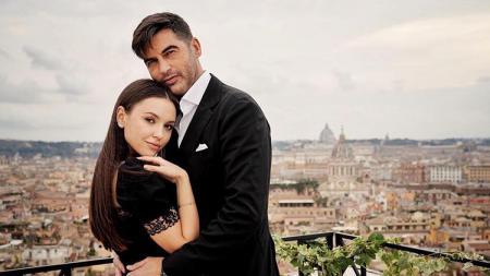 Paulo Fonseca dan istri tercinta, Katerina Ostroushko - INDOSPORT