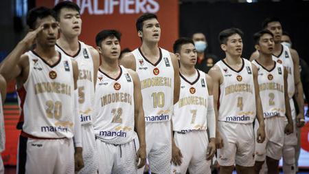 Timnas Basket Indonesia. - INDOSPORT