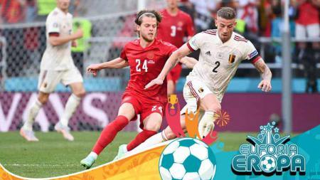 Berikut klasemen Grup B Euro 2020 di mana Belgia kukuh di puncak, sementara Denmark kian memprihatinkan sebagai juru kunci. - INDOSPORT