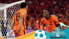 Indosport - Top skor Euro 2020: Bintang Belanda setara dengan Ronaldo dan Immobile.
