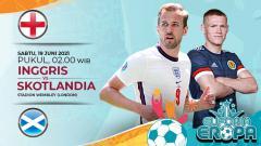 Indosport - Berikut prediksi pertandingan lanjutan Grup D Euro 2020 antara Inggris vs Skotlandia di Stadion Wembley, Sabtu (19/6/21) dini hari WIB.