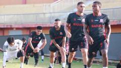 Indosport - Latihan Madura United.