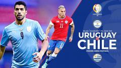 Indosport - Link Live Streaming Copa America 2021: Uruguay vs Chile