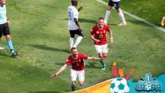 Indosport - Dugaan Rasisme Suporter Hungaria di Euro 2020, UEFA Lakukan Penyelidikan.