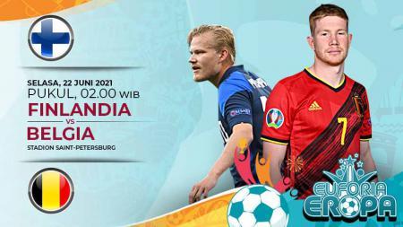 Prediksi Euro 2020 Finlandia vs Belgia: Laga Hidup Mati The Eagle Owls. - INDOSPORT