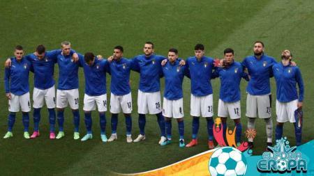 Timnas Italia di Euro 2020. - INDOSPORT