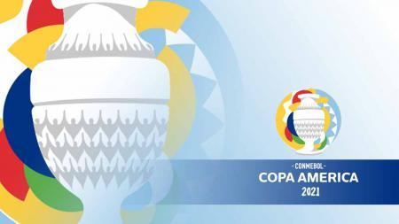 Logo Copa America 2021. - INDOSPORT
