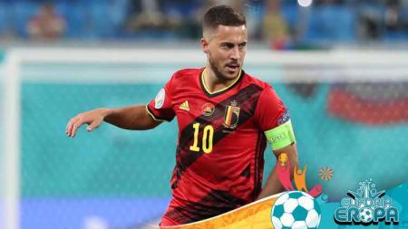 Timnas Belgia memberi kabar terbaru mengenai dua bintang mereka, Eden Hazard dan Kevin De Bruyne, jelang lawan Timnas Italia di babak perempatfinal Euro 2020. - INDOSPORT