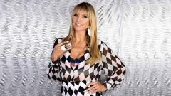 Indosport - Supermodel Heidi Klum.