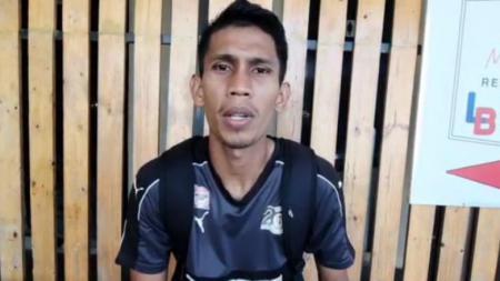 Bek anyar Sriwijaya FC, Rahmat Juliandri. - INDOSPORT
