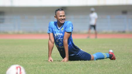 Sansan Fauzi saat trial di Persib Bandung. - INDOSPORT