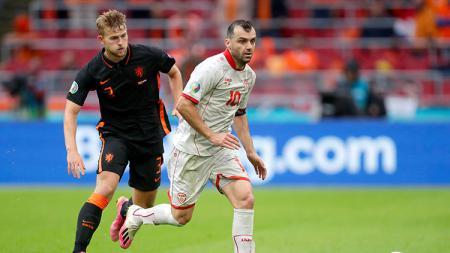 Makedonia Utara vs Belanda. - INDOSPORT