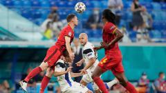 Indosport - Finlandia vs Belgia di Euro 2020.