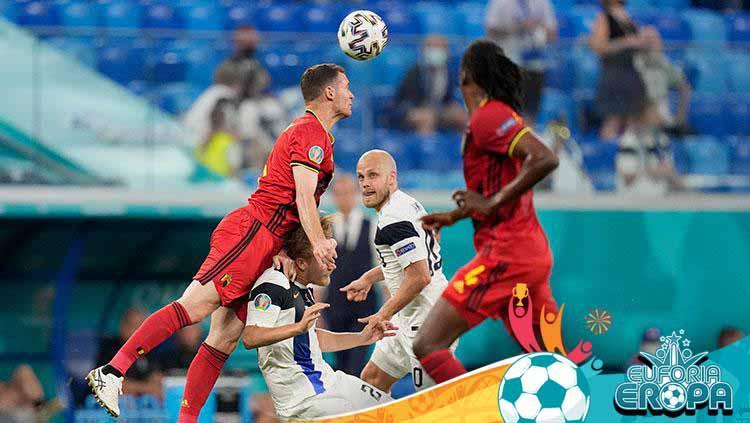 Finlandia vs Belgia di Euro 2020. Copyright: Dmitry Lovetsky/Getty Images
