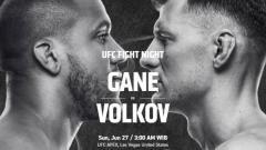 Indosport - Berikut jadwal dan daftar petarung yang akan berduel di ajang UFC Vegas 30, yakni kartu utama antara Ciryl Gane vs Alexander Volkov pada akhir pekan ini