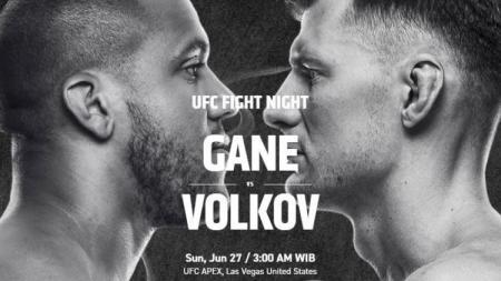 Berikut jadwal dan daftar petarung yang akan berduel di ajang UFC Vegas 30, yakni kartu utama antara Ciryl Gane vs Alexander Volkov pada akhir pekan ini - INDOSPORT