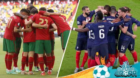 Starting XI mengerikan gabungan Portugal dan Prancis di Euro 2020. - INDOSPORT