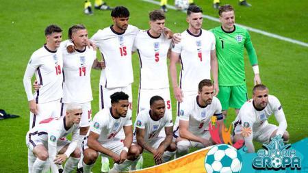 Skuat Timnas Inggris di Euro 2020. - INDOSPORT