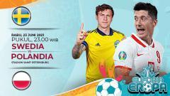 Indosport - Berikut ini prediksi pertandingan ketiga Grup E Euro 2020 antara Swedia vs Polandia yang akan berlangsung hari Rabu (23/06/21) pukul 23.00 WIB.