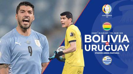 Berikut link live streaming pertandingan lanjutan Grup A Copa America 2021 antara Bolivia vs Uruguay. - INDOSPORT