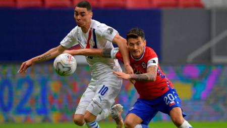 Laga Copa America Chile vs Paraguay, Jumat (25/06/21) pagi WIB. - INDOSPORT
