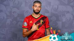 Indosport - Terdapat sebuah kisah menarik dari Yannick Carrasco jelang pertandingan antara Belgia vs Portugal di Euro 2020.