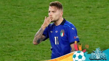 Hujan kritik yang menimpa Ciro Immobile di Euro 2020 rupanya dianggap tidak adil. Agen sang bomber Italia bahkan sampai harus buka suara untuk membela. - INDOSPORT