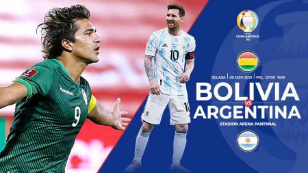 Berikut link live streaming pertandingan pamungkas Grup A Copa America 2021 antara Bolivia vs Argentina. - INDOSPORT